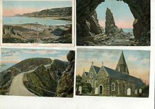 JERSEY  SIX   .OLD PRINTED  POSTCARDS