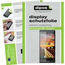 Archos 50c Oxygen screen protector protection guard anti glare