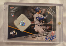 2017 Topps Now Game Used Base Relic Card#741A Cody Bellinger Dodgers 53/99