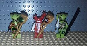 Lego Ninjago Minifiguren  - 3 Schlangen  - Lasha + Fangdam