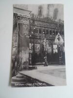 Vintage Real Photo Postcard BETHLEHEM Church of the Nativity Palestine §A896