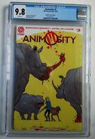 Animosity #3 Frankie Comics Edition Strahm Aftershock Comics Ltd to 150 CGC 9.8
