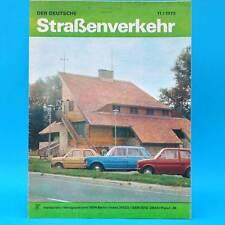 Der Deutsche Straßenverkehr 11/1979 DDR Camptourist CT 6-2 Cottbus Rheinsberg F