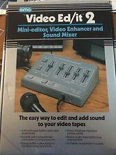 SIMA VIDEO ED/IT 2, MINI-EDITOR, VIDEO ENHANCER & SOUND MIXER IN BOX