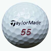 50 TaylorMade Project (a) Golfbälle im Netzbeutel AA/AAAA Lakeballs Projecta