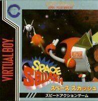 Neuf Nintendo Virtual Boy Space Squash 3d Vb VR Japon Officiel Inport