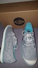 PALLADIUM SLIM OXFORD II OFF WHITE BLUE 92837235 WOMENS US 8.5 UK 6.5 EU 40 NEW