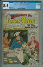 SUPERMAN'S PAL JIMMY OLSEN #38 CGC 8.5 OW/WH PAGES