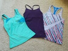 3b8015cbf9 Lot of 3 Women s NIKE DRI-FIT Running Tennis Training Tank Tops Shirts Size  S
