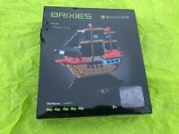 Brixies Building Blocks Pirate Ship NEW/SEALED 726 pc Level 5