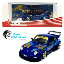 "FuelMe 1/64 RAUH-Welt BEGRIFF Porsche RWB 911 (993) ""Royal ocean""【In-Stock】"