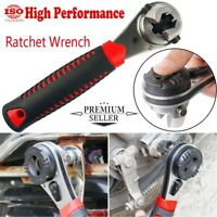 Handheld Spanner Ratchet Wrench Multifunction Adjustable 6-8in Auto Repair Home