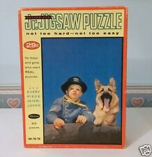 Rin-Tin-Tin & Rusty MOVIE JIGSAW PUZZLE 1950S COMPLETE PUZZLE 63pcs.