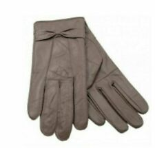 **SALE SALE SALE** Ladies Size Small to Medium Brown Leather Gloves GL147