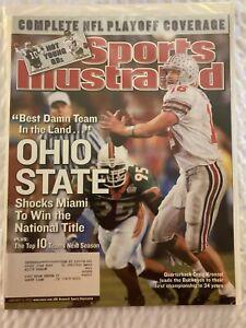 Sports Illustrated 2002 Season Ohio State Buckeyes NCAA Football Champions NM