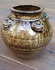 Vintage Chinese Stoneware Martaban Pottery