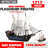 Brand New Imperial FLAGSHIP PIRATES 10210 C0mp4tible UA Set Christmas Gift