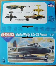 1:72 novo BOX ONLY! f174 BOX Gloster Whittle e28/39 PIONEER. without model!