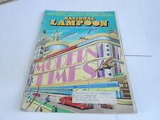 July 1973 National Lampoon vintage magazine - Modern Times