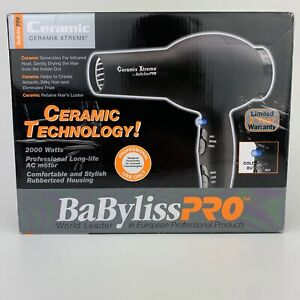 BaByliss Pro Ceramix Xtreme Hair Dryer BAB2000 Brand New Ships Fast
