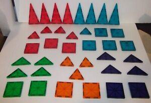 Magna-Tiles Magnetic Building Blocks 38 Piece Lot
