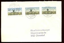 Germany 1991 Cover With 5px2, 70pf Machine Labels #C8905
