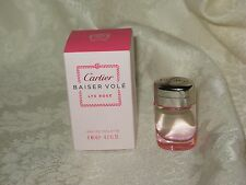 """Baiser Vole"" Cartier. Women's Eau de Toilette Sample. 0.2 fl.oz./ 6 ml. New."
