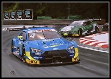 Print on canvas 2019 DTM race 2 Norisring (GER) by Toon Nagtegaal (LEF)