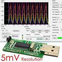 iCP12 - usbStick (6 Ch. Analog USB DAQ Oscilloscope Unlimited Logger IO Control)