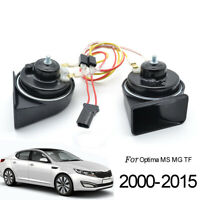 For Kia Optima MS MG TF 2000-2015 12V 110-125db High Low Tone Snail Horn