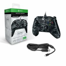 PDP Wired Game Controller for Xbox One - Camouflage Black