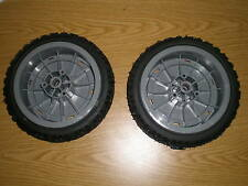 "NEW OEM Toro Lawnmower Super Recycler Wheels Front 8""  107-3708  (Set of 2)"