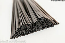 PP/EPDM Plastic welding rods mix black 80pcs triangle&flat car bumpers repairs