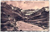 CPA 65  Hautes-Pyrénées Cavarnie Le cirque et la Chaumière