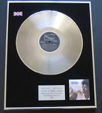 MICHAEL JACKSON Best Of PLATINUM LP Disc Presentation