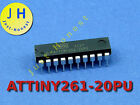 ATTINY261-20PU, mit/ohne DIP20 Sockel/Socket Mikrocontroller, ATMEL, AVR, MCU