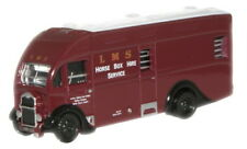 Oxford NAH005 Albion Horse Box LMS 1/148 New in Case -T48 Post