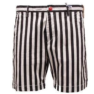 5774X bermuda uomo AT.P.CO black/white cotton short men