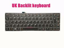 UK backlit keyboard for Lenovo Yoga 3 Pro-1370 (Type 20448/80HE)