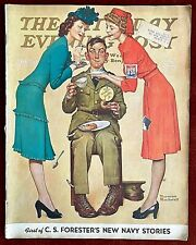 Saturday Evening Post ~ February 7, 1942 ~ Norman Rockwell Charles Atlas