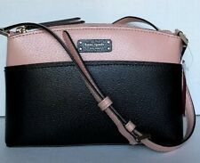 New Kate Spade New York Jeanne Crossbody handbag Warm Vellum / Black