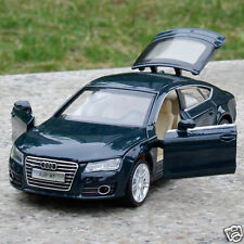 Audi A7 1:32 Model Cars Toy Car Sound & Light Alloy Diecast Kids Gift Blue Color