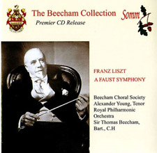 ALEXANDER YOUNG...-BEECHAM COLLECTION LISZT (1811-1886): A FAUST...-JAPAN CD F30