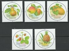 Russia 2003 Fruits 5 MNH stamps