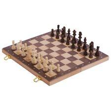 GOKI Schachspiel in Holzklappkassette Schach Spiel Holzspielzeug