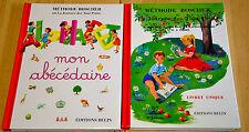 lot 2 livres La méthode Boscher Lecture livret unique + Mon abécédaire