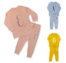 Personalised Initial Lounge Set Children's Tracksuit Loungewear Girls Boys Gift