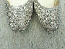 Señoras Negro Indio Boda Fiesta Khussa tamaño del zapato 6