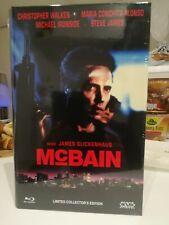 McBain - Große Hartbox Blu-ray rare Ltd 44 pièces! (bien lire pas de VF).