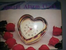 Alarm Clock Heart Shape, Battery operated Shipped Free With USPS